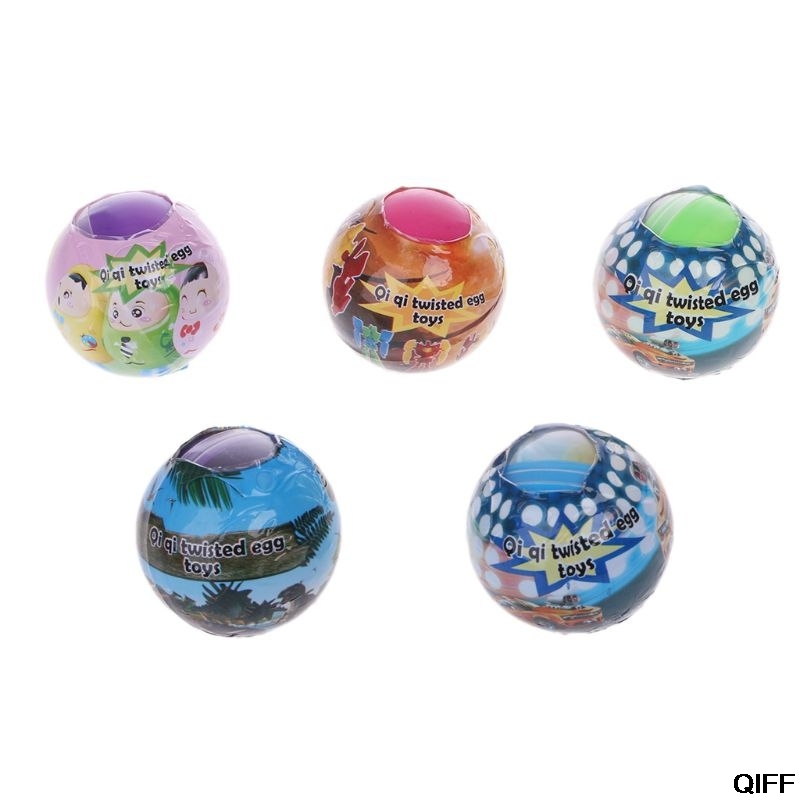 Drop Ship&Wholesale 6PCS Toy Ball Surprise Egg  Surprise Ball Suprise Doll Toys Gashapon Kids Toy Gift May06
