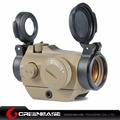 Greenbase Tactical hunting riflescopes 20mm Low Mount Micro 1x24 mini Red Dot sight Scopes Optics for air rifle With Killflash