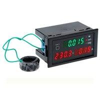 Multi function digital AC digital voltmeter current meter power factor power meter DL69 2047