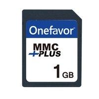 Onefavor 256 МБ 512 МБ 1 ГБ 2 ГБ MMC карт мультимедиа 13 контакты