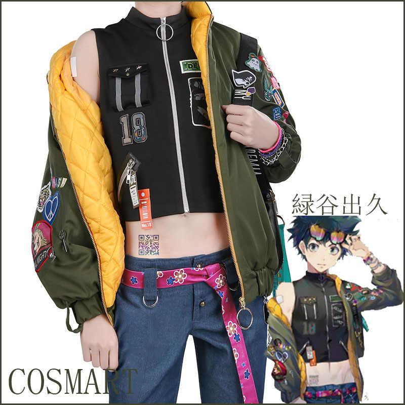 September Anime Boku No My Hero Academia Figure Midoriya Izuku Fanart Magazine Fashion Daily Wear Full Set New 2018 Free Ship