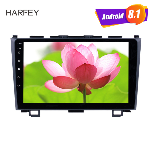 "Harfey GPS 2Din 9"" Android 6.0/7.1/8.1 Car Radio For 2006 2007 2008 2009 2010 2011 Honda CRV HD 1080P Multimedia Player Stereo"