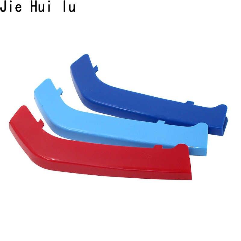 3 3D Xe Ô Tô Lưới Tản Nhiệt Trước Viền Thể Thao Dải Bao Miếng Dán Cho Xe BMW E46 E90 F30 F34 E92 E93 F30 f10 1 3 Bộ 5 X3 GT Phụ Kiện