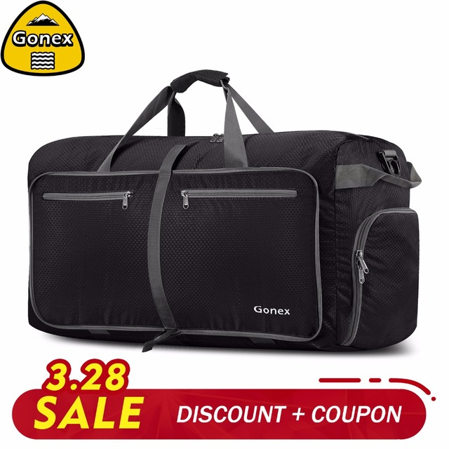 1a3626f0e Gonex 150L Travel Duffle Bag Packable Handbag for Men Women Luggage  Suitcase Camping Gym Business Trip Large Capacity-in Climbing Bags from  Sports ...