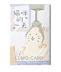 L101-бумажные поздравительные открытки в виде кошки (1 упаковка = 28 штук)
