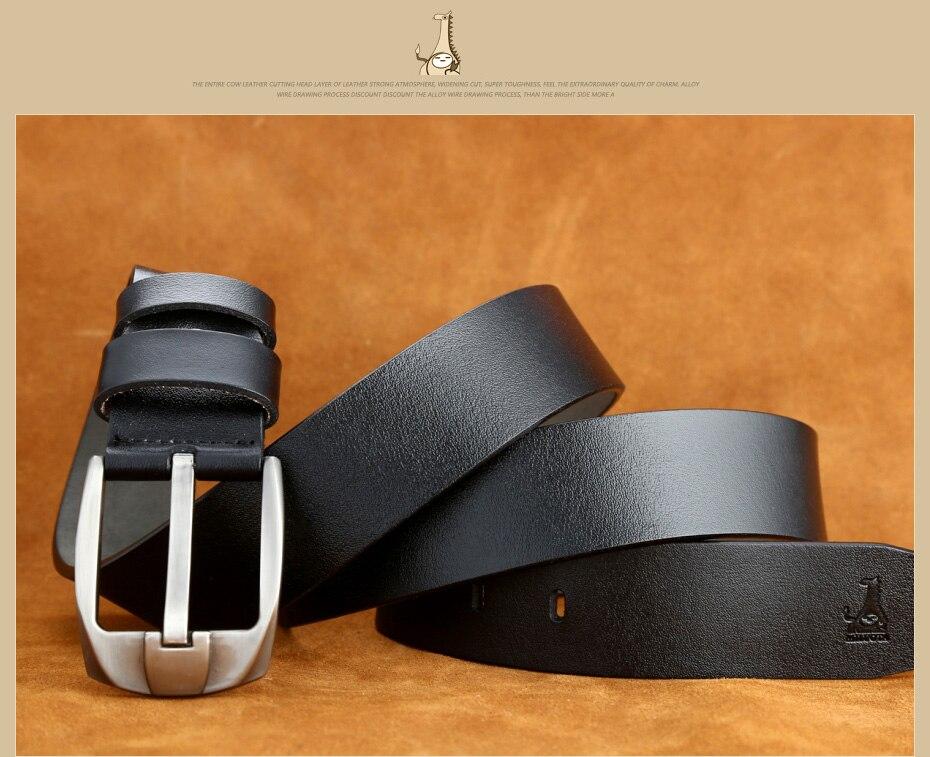 [MILUOTA] 2016แฟชั่นออกแบบเข็มขัดผู้ชายที่มีคุณภาพสูงวัวแท้สายหนังผู้ชายเข็มขัดMU065 25