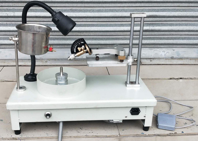 Gem Faceting Machine Jade Stone Angle polishing Machine Jewelry Polisher Flat Grinder Gemstone face grinding Speed Adjustable