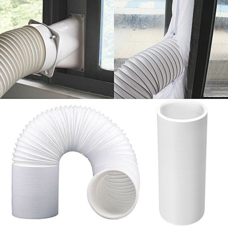 Adjustable Mobile Exhaust Duct Ventilator Pipe Hose Stretch For Air Conditioning Air System Vent Bathroom