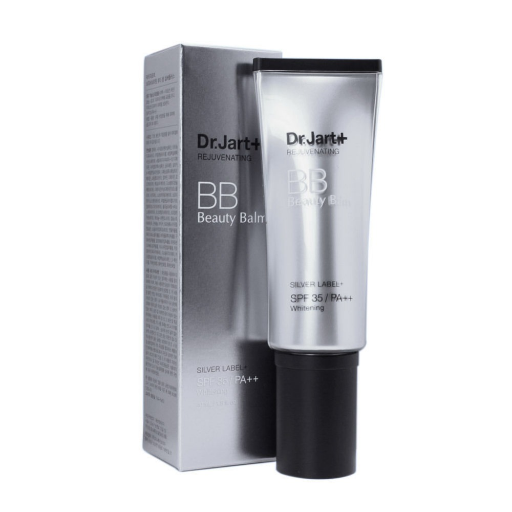 Dr. Jart+ Rejuvenating BB Cream Beauty Balm Silver Label+ SPF35 PA++ Brightening dr jart bb крем black label питательный с spf25 pa bb крем black label питательный с spf25 pa