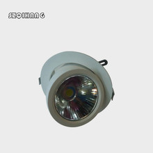 Adjustable Hight light COB LED Gimbal Embedded led trunk lamp 30W White sehll Newest Round COB Led Downlamp shop light .