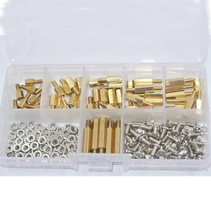 180Pcs/set M3*L+6mm Hex Nut Sp