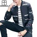 ERIDANUS Men Jacket 2016 Autumn Arrival Hot Sale Thin Influx Young Coat Fashion Printing Casual Uniform Baseball Clothing M442