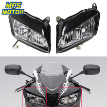 For 07-12 Honda F5 CBR600RR CBR 600 RR Motorcycle Front Headlight Head Light Lamp Headlamp Assembly 2007 2008 2009-2012 for lifan 320 2007 2012 headlight assembly lamp assembly front headlamps with turn signal 1pcs