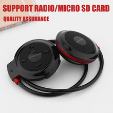 Mini Bluetooth Headphones Sports Wireless Stereo Headsets Earbuds With Mic Support TF Card FM Radio for iPhone Samsung
