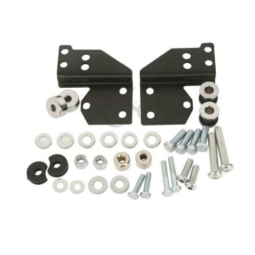 Detachables Front Docking Hardware Kit For Harley Road King Electra Glide 97 08