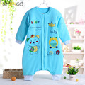 Winter Warm Cotton Infant Baby Jumpsuit Baby Boy Girls Rompers Baby Long Sleeve Pajamas Children Rompers (1-3T)