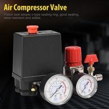 Air Compressor Valve Small Air Compressor Pressure Switch Control Valve Regulator with Gauge Air Regulator Valve tapones valvula
