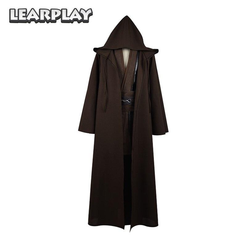 ᗐStar Wars Jedi Anakin Skywalker Robe Capa Cosplay Nueva Túnica ...