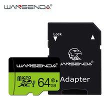 Карта памяти Wansenda, 128 ГБ, 64 ГБ, 32 ГБ, 16 ГБ, 8 ГБ, класс 10, Micro SD карта, 4 Гб, класс 6, tf-карта для смартфонов с бесплатным адаптером для карт