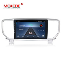 MEKEDE 2 din 9 inch 1024*600 Android 8.1 car multimidia player for Kia sportage 2018 2019 Wifi Car dvd player GPS navigation