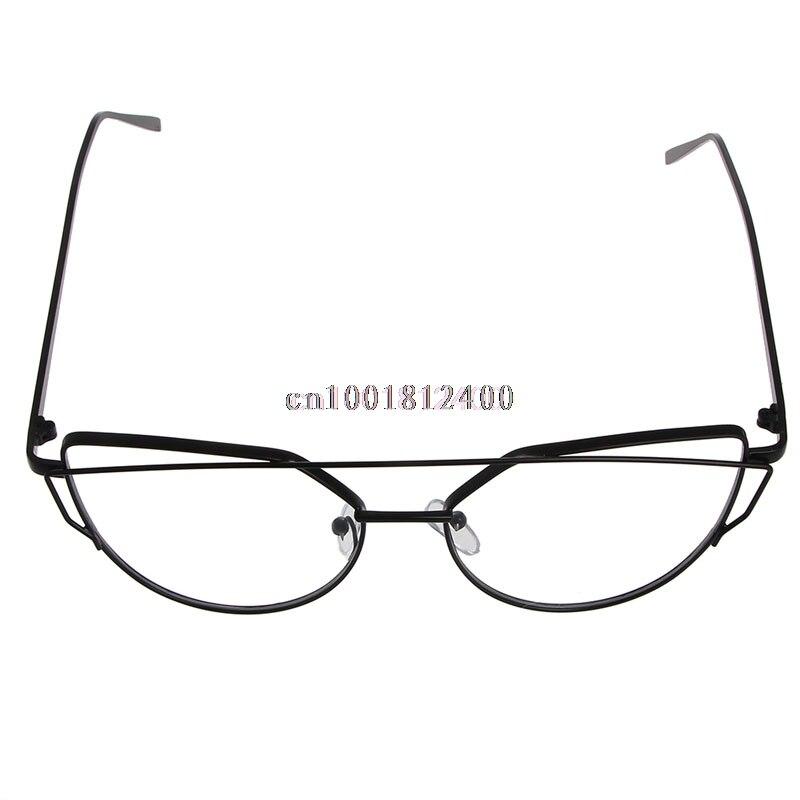 1 StÜck Mode Glasrahmen Myopie Brillengestell Mode Unisex Brillen Brillen Metall Vollformat Rim Brillen KöStlich Im Geschmack