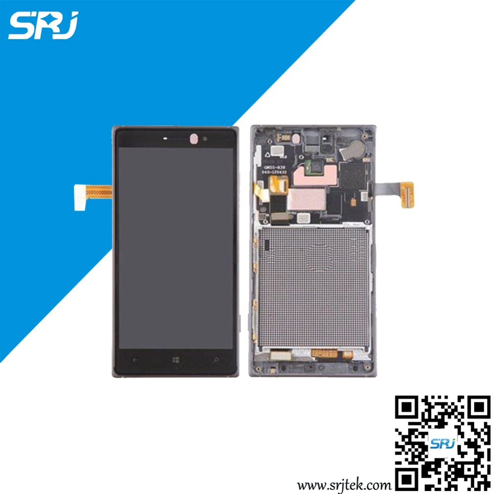 ФОТО 100% Test For Nokia Lumia 830 LCD Display Monitor Touch Screen Digitizer Glass Sensor Assembly+Frame Replacement Parts