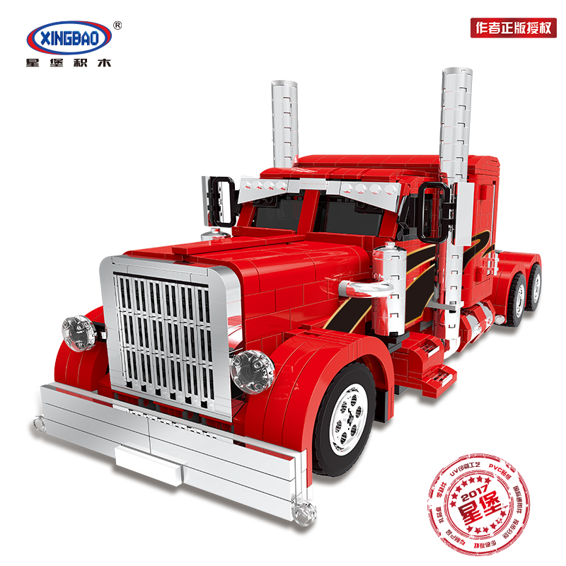 XingBao 03012 1505Pcs Genuine Technic MOC Series The Red Monster Set Children Educational Building Blocks Bricks Toys Model GiftXingBao 03012 1505Pcs Genuine Technic MOC Series The Red Monster Set Children Educational Building Blocks Bricks Toys Model Gift