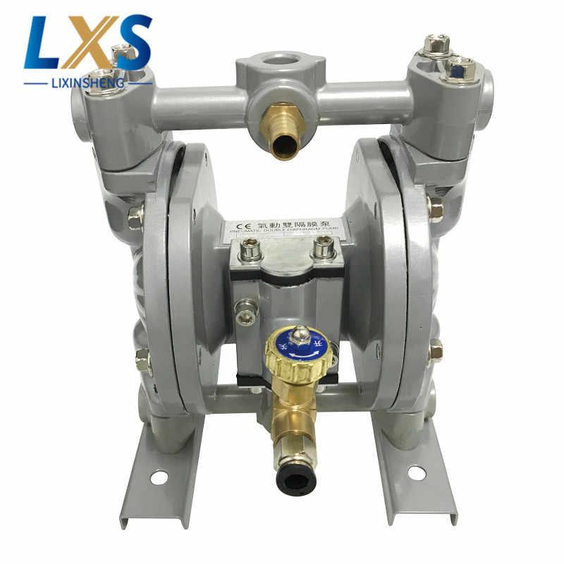 15л/мин PTFE Алюминиевый сплав Воздушный мембранный насос двойной способ циркуляции чернил насос для флексографской печати