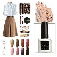 2016 FOCALLURE Fashion Nail Gel Polish Soak Off UV Colorful Nail Colors Art for gel nail polish Long-lasting Gel