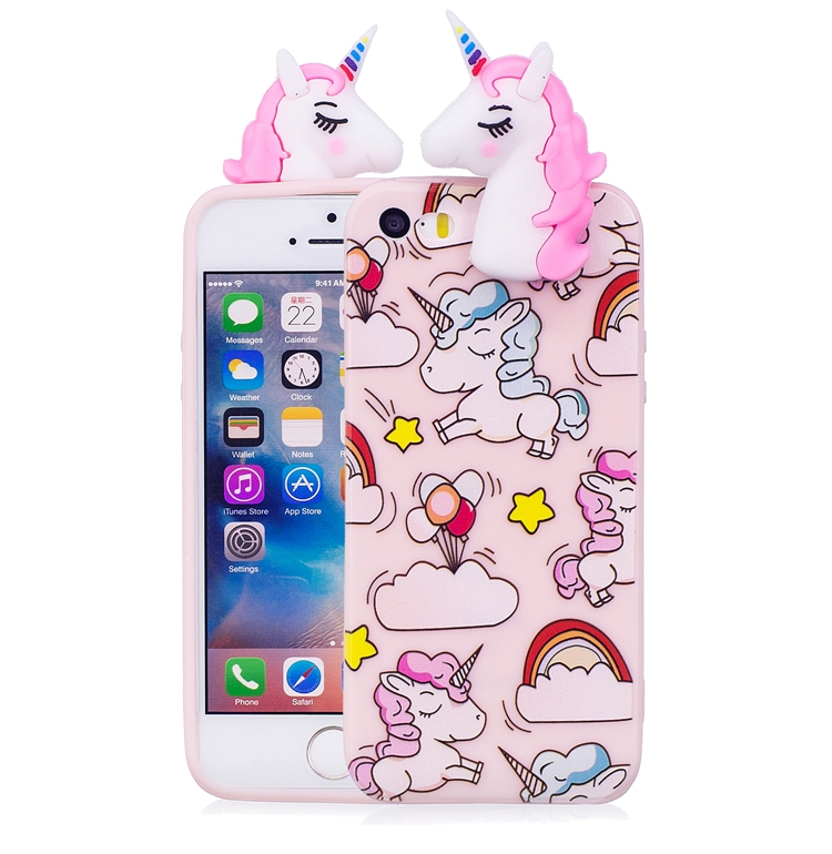 Fitted Cases For Coque Iphone 5s Case Se Case For Iphone 5 Case 3d Cartoon Panda Unicorn For Case Iphone5s 5 S 5se Back Cover 5s 5 Se Capinha Cellphones & Telecommunications