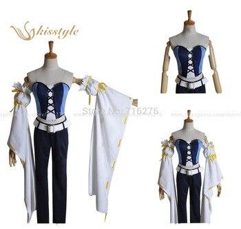 Kisstyle Fashion Anime Brave10 Sanada Ten Braves Juuyuushi Anastasia Cloth Uniform Cosplay Costume Custom-Made