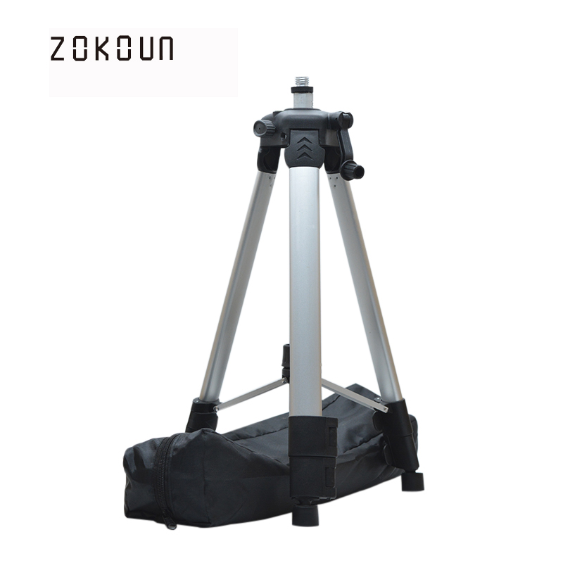 ZOKOUn 650g net weight 1.2m maxinum high telescopic color coated aluminum stand or tripd with water bubble for 360 rotary laserZOKOUn 650g net weight 1.2m maxinum high telescopic color coated aluminum stand or tripd with water bubble for 360 rotary laser