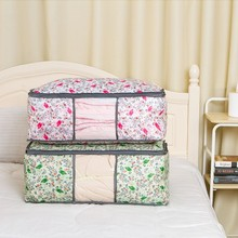 Home Quilt Storage Bags Dust Covers Clothing Bedding Toys Wardrobe Organization Accessories