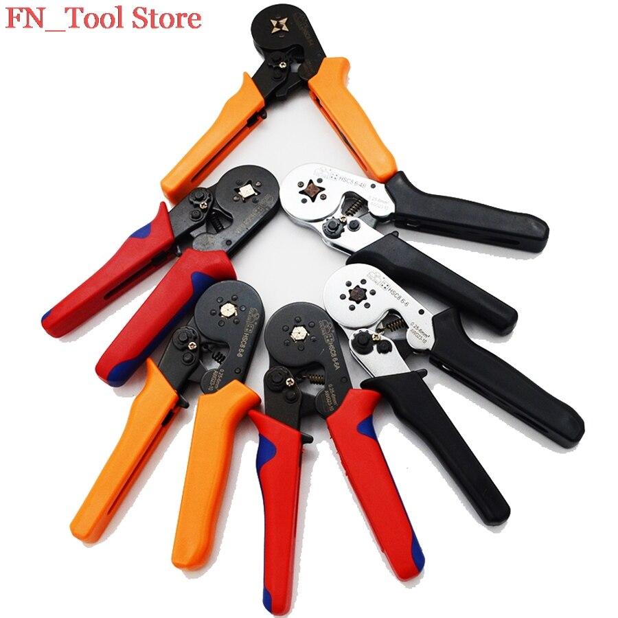 FASEN HSC8 6-4 HSC8 6-6 auto-ajustable MINI-tipo alicate 0,25-6mm2 recto alemán alicates herramientas de mano envío gratuito