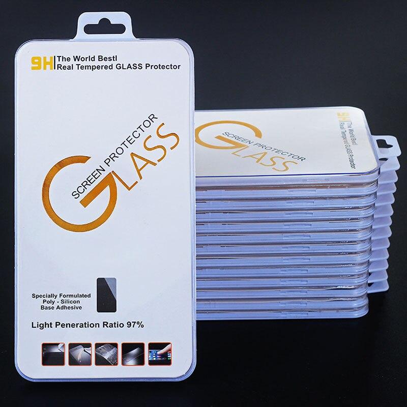 imágenes para 10 unids Ulter Clear Anti-Huella Digital Protector de Pantalla anti-arañazos de Cristal Templado para el iphone 5 5S 6 6 s 6 Más 7 7 Plus + Caja Al Por Menor