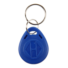 100 x Key Badge Proximite RFID 125Khz ABS Blue Security for Home