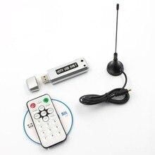1 pc USB 2.0 DVB-T Récepteur TV Numérique HDTV Tuner Dongle Bâton Antenne IR À Distance