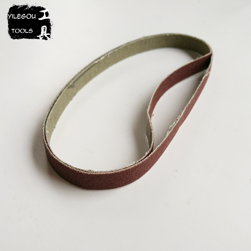 <font><b>50</b></font> Pieces 10*330mm Sanding Belt For Woodworking 10 * 330mm Sanding Band With Grit 60 <font><b>80</b></font> 180 120 240 320 For Belt Sander image
