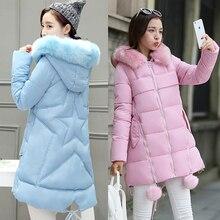 Осень и зима студентов свободные хлопок пальто Pentax звезда пальто женщина 15-20 лет 30 длинный участок шерсти воротник пуховик