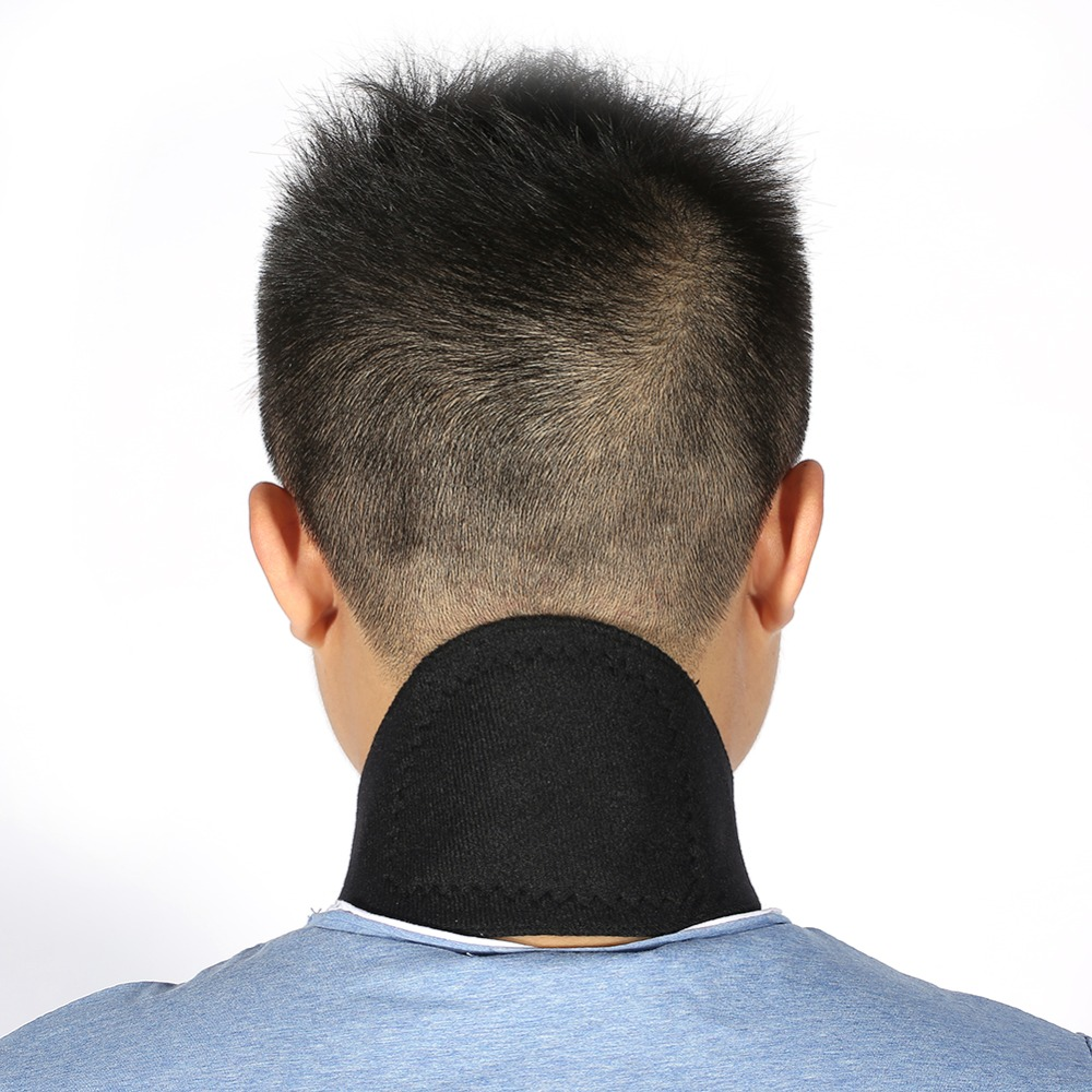 Tourmaline Neck Guard Magnetic Self-heating Bamboo Charcoal Neck Support Collar Neck Pain Relief Brace Heating Wrap Belt Foot