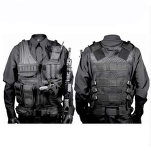 Military Equipment Tactical Hunting Body Armor Molle Vest Outdoor CS War Game Training Combat Protective Paintball Airsoft Vest жилет армейский no molle cs