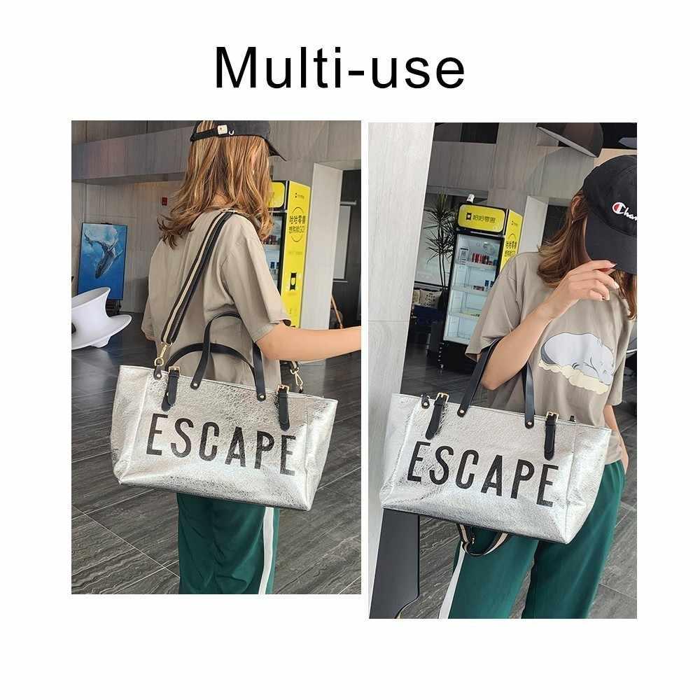 TTOU/модные женские сумки, дизайнерские роскошные кожаные женские сумки на плечо, повседневная сумка с верхней ручкой, большая Женская дорожная сумка