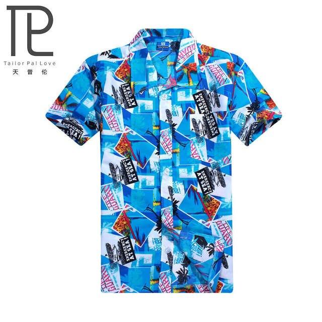 ccbc837cd placeholder Homens camisa Havaí praia lazer moda camisa floral chemise  homme camisas marca Praia litoral tropical havaiano