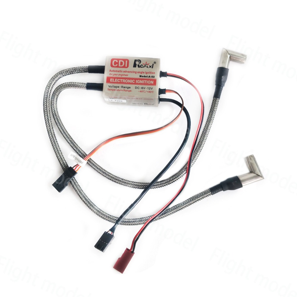 ME-8 A-02 4.8V~8.4V 622a 1//4-32 90 Degree Rcexl Twin Ignitions for NGK