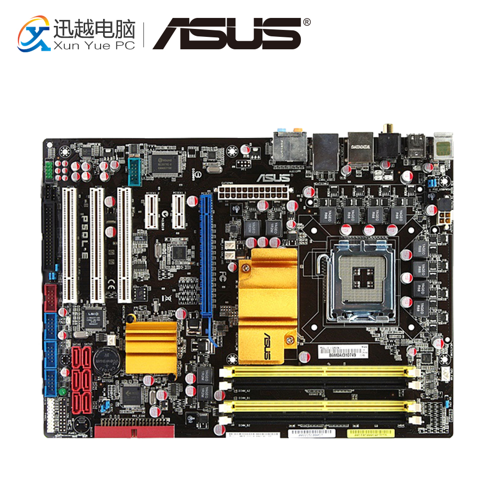 все цены на Asus P5QL-E Desktop Motherboard P43 Socket LGA 775 DDR2 16G SATA2 USB2.0 ATX On Sale онлайн