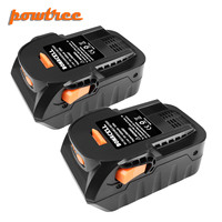 Powtree 4000mAh 18V Li-Ion para RIDGID R840083 R840085 R840086 R840087 herramienta eléctrica recargable de la batería de la serie Series AEG L30