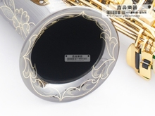 New high quality SUZUKI saxophone YH0070937 E flat alto sax black nickel TOP musical instruments professional grade shipping