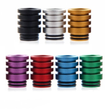 Electronic Cigarette Accessories Aluminum 810 Drip Tip For 810 RDTA Atomizer Tank Colorful Mouthpiece For VAPE image