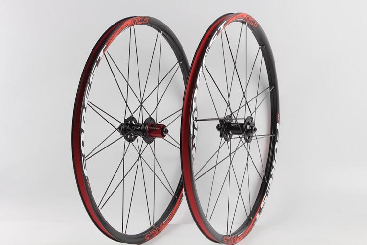 RT RC5 Mountain Bike Bicycle Six Star Style 5 sealed Bearings 26 27.5 Rim Carbon Fiber Hub Super Smooth Wheel Wheelset
