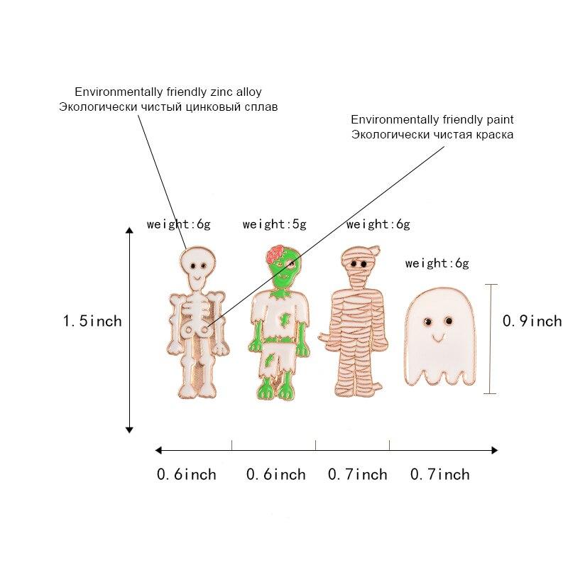 Happy-Halloween-Day-of-the-Dead-Cartoon-Cute-Zombie-Family-Skeleton-Skull-Bandage-Mummy-Ghost-Specter(1)